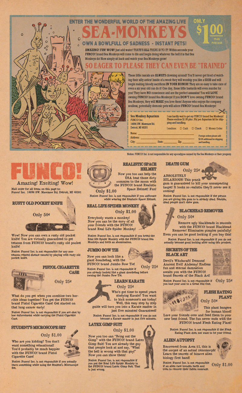Issue #2 – Funco Advertisement