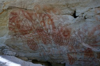 Cathedral Cave artwork.