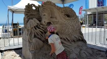 Sand sculptures - Surfers Paradise