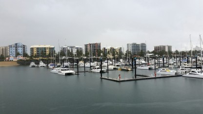 Mackay marina.