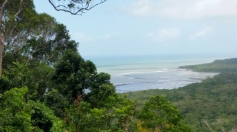 Emmagen Beach- view from the Bloomfield Track