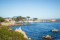 Blue skies and waters around Lover's Point in Monterey CA NotSoSAHM