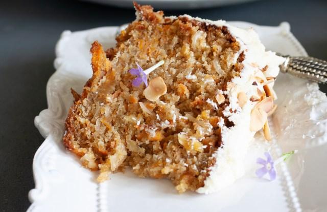 Best carrot cake ever.