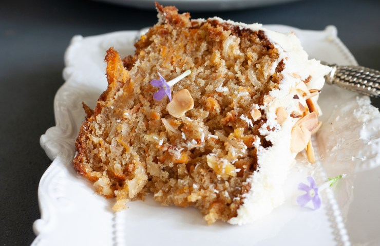 Best carrot cake ever.