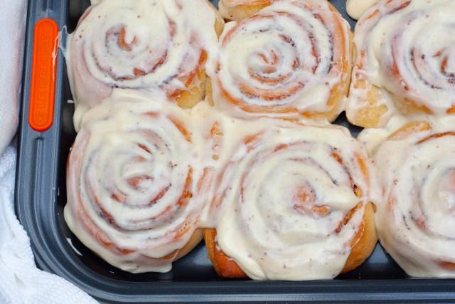 Easy, delicious homemade cinnamon rolls.