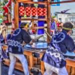 【HDR写真】松江の秋を彩る鼕行列×HDR×ソフトフォーカス×彩度高め