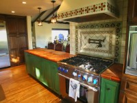 Spanish style Kitchen remodel with period style tile ...