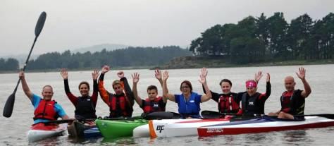 Fornøyde deltagere etter avholdt kurs. Foto: Wenche huseby