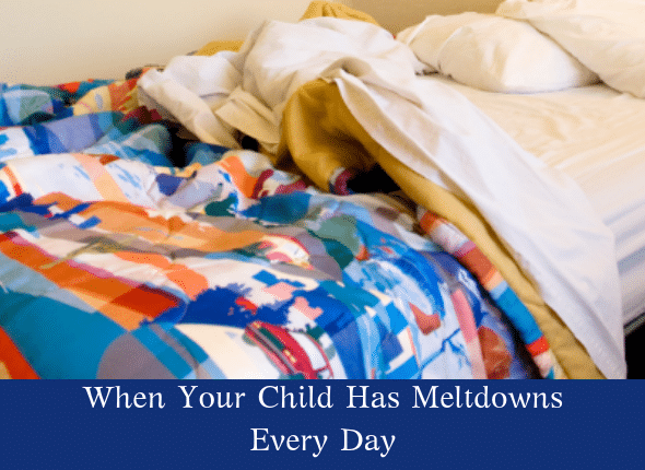 When Your Child Has Meltdowns Every Day • Not The Former Things