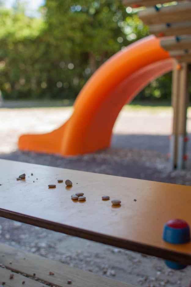Playground with Rocks