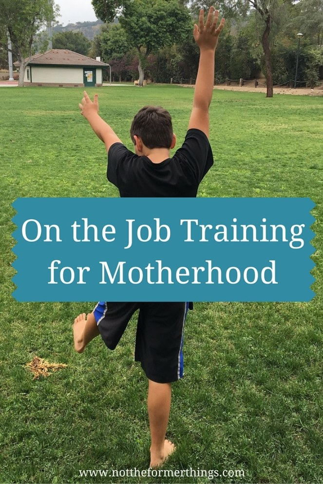 On the Job Training for Motherhood