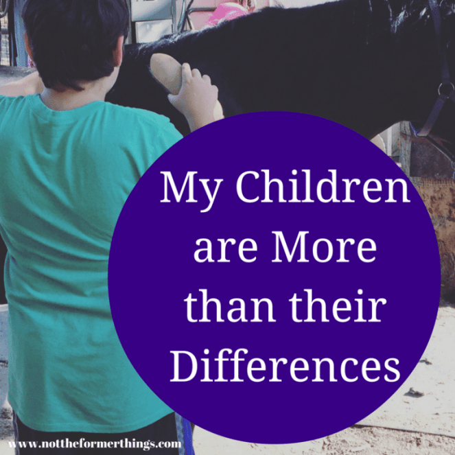 My Children Are More Than Their Differences