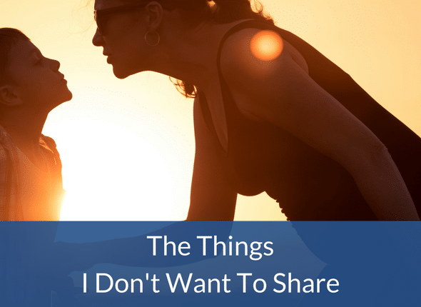 The Things I Don't Want To Share - Not The Former Things Autism, ADHD, Homeschooling