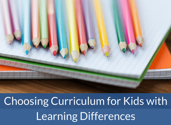 How To Choose Curriculum For Kids With Learning Differences - #adhd #autism #dyslexia #learningdifferences