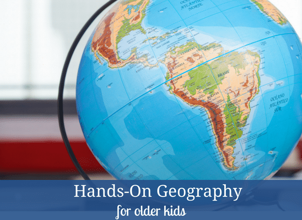 Hands-On Geography For Older Kids #handson #middleschool #highschool #learningdifferences #homeschool