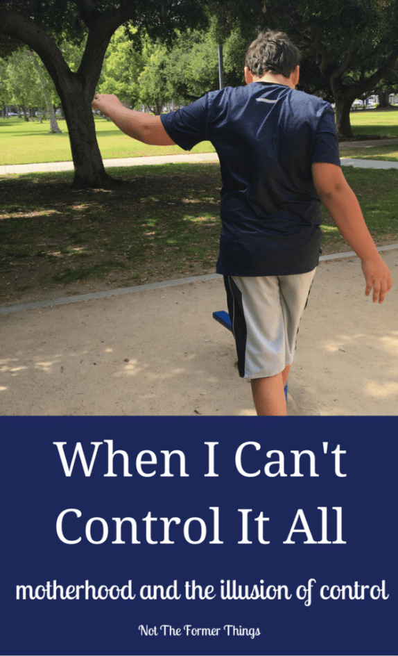 When I Can't Control It All - #specialneeds #autism #mentalillness #bipolar #adhd