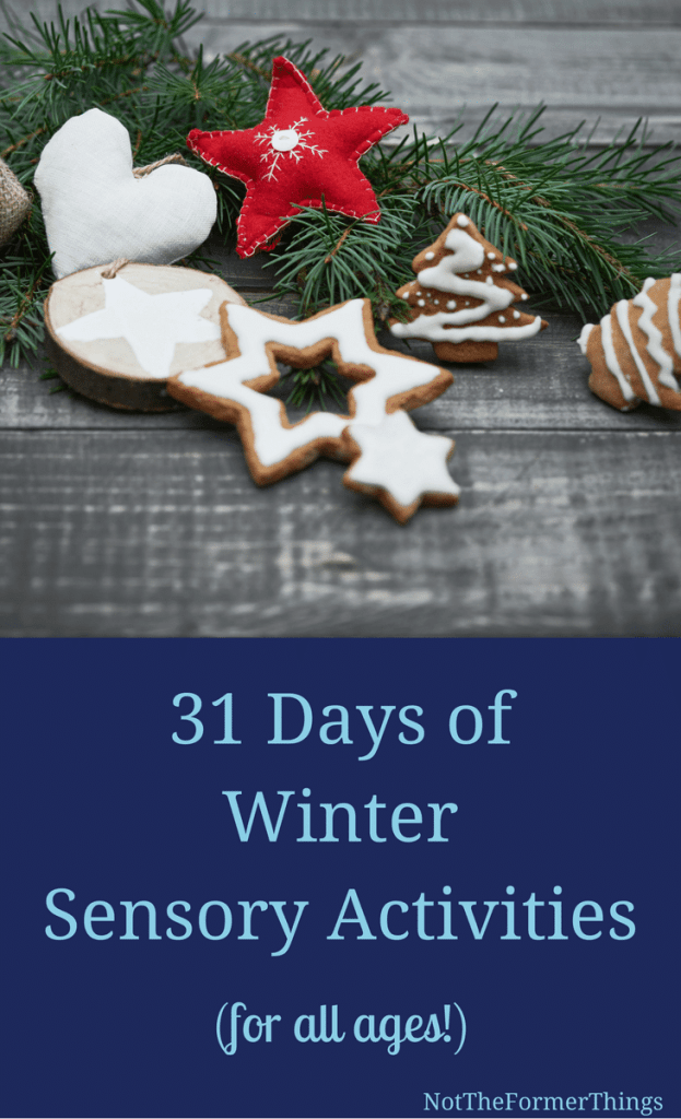 31 Days of Winter Sensory Activities (for all ages!) #sensoryactivities #winteractivities #sensorykids #sensoryprocesingdisorder #handsonlearning