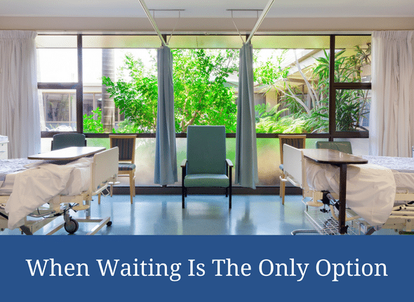 When Waiting is The Only Option (special needs motherhood) #specialneeds #chronicillness #specialneedsmom
