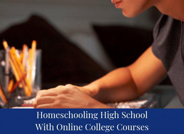 Online College Courses >> Homeschooling High School With Online College Courses