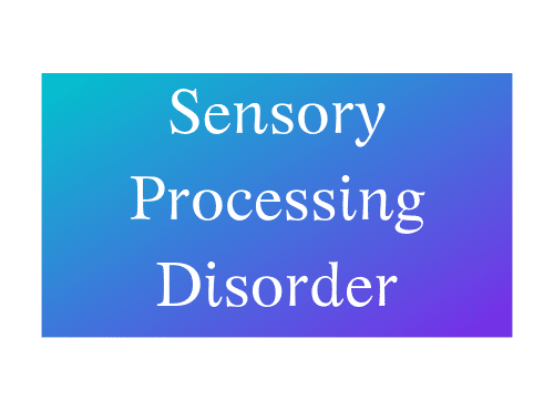 Sensory Processing Disorder Not The Former Things