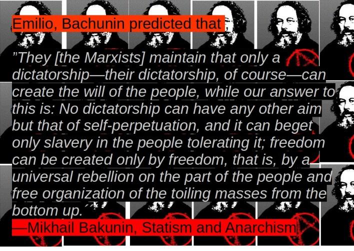 bachunin dictatorship