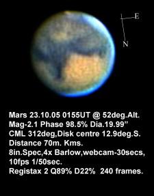 Mars 23.10.05 (by Bryan Lilley)