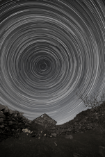 Star trail - North Wales - 19/20th April 2016. James Dawson