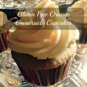 GF Orange Creamsicle Cupcakes
