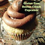 Gluten Free Boston Cream Cupcakes