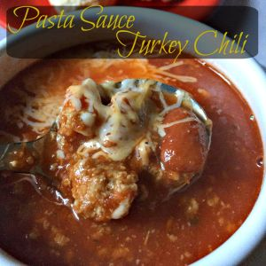 Pasta Sauce Turkey Chili CV