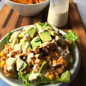 Chipotle Ranch Chicken Burrito Bowl