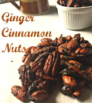 Ginger Cinnamon Nuts CV