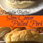 Pumpkin Butter Slow Cooker Pulled Pork
