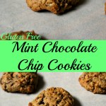 Gluten Free Mint Chocolate Chip Cookies