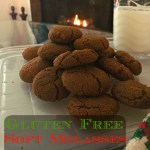 Gluten Free Soft Molasses Cookies