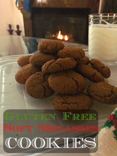 gluten free soft molasses cookies CV
