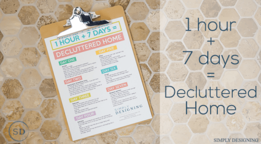 7-Hours-to-a-Decluttered-Home-featured-image