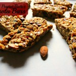 Almond Peanut Butter Granola Bars