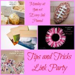 Tips & Tricks Link Party #103
