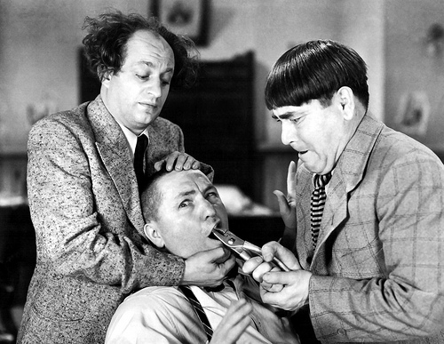The Three Stooges Do Phonics!