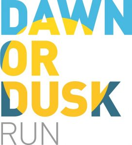Dawn or Dusk 5k and 10k logo