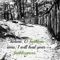 He Heals our Faith - 31 Days of Truth {Day 21}