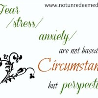 Stress Lies - 31 Days of Truth {Day 27}