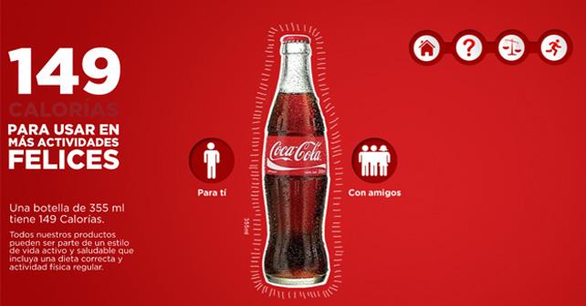 149 calorias coca cola