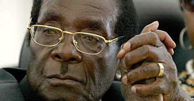 Robert Mugabe presidente de Zimbabwe, ok