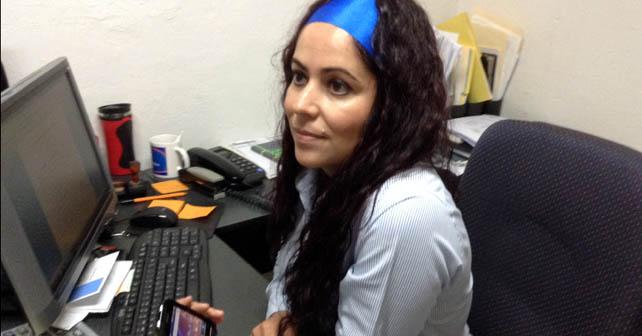 La Oficial Mayor, Carolina Ceballos Granados negó que su hermana trabajara en la presidencia de Abasolo