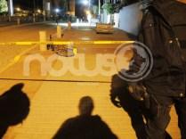 Balacera deja dos personas muertas, entre ellas un policía municipal