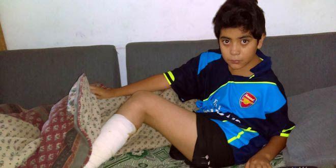 Dilan Manuel Vargas Estrada de 12 años Foto Esaú González