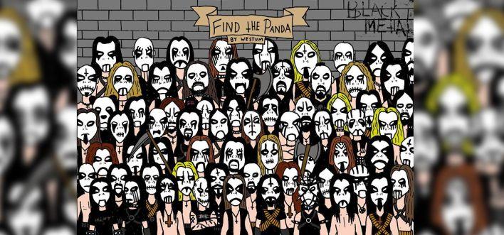 panda heavy metal