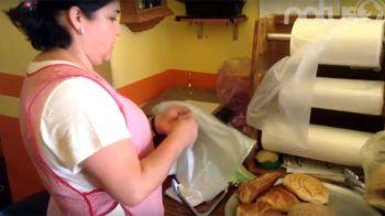 Nena Durán encargada de la panadería